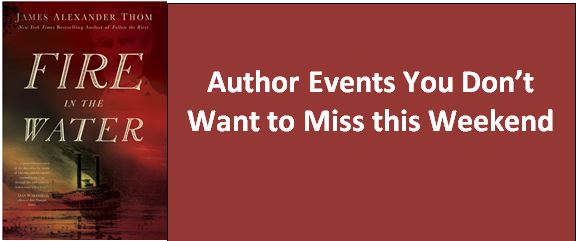 Author Events You Don't Want to Miss
