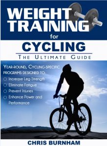 This book was written specifically for cyclists to increase strength, speed, endurance, and stamina.