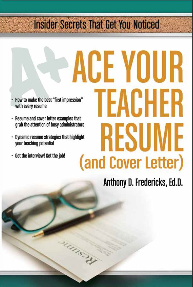 ace your teacher resume and cover letter cardinal publishers group